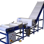 Belt conveyor & Metal Detector