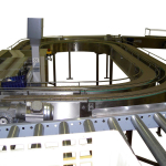 Conveyor Belt Mushroom Checkweight system