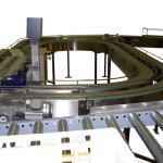 Conveyor Belt Mushroom Checkweight system