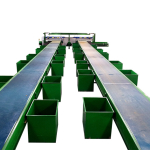 Conveyor Belt Picking line with magnet