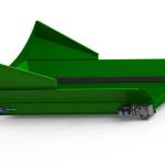 Conveyor Belt Transfer From Trommel