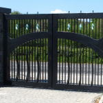 Mild Steel Gates Hydraulic Automated
