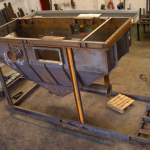 Mild Steel General Fabrication Sand Hopper