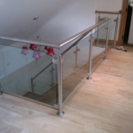 Stainless steel Glass Balustrade